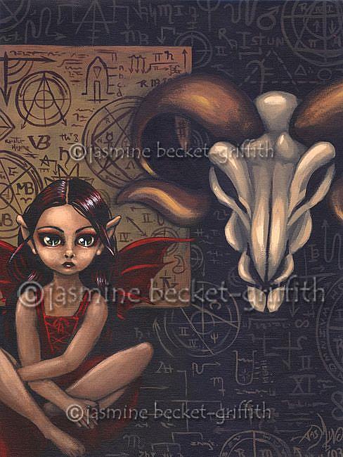Art: Arcane Ritual Faerie (#1) by Artist Jasmine Ann Becket-Griffith