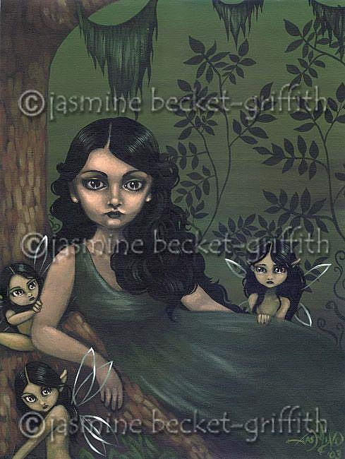 Art: Lady of the Faeries by Artist Jasmine Ann Becket-Griffith