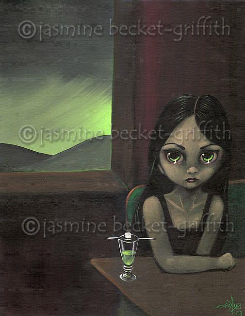 Art: Absinthe Afternoon by Artist Jasmine Ann Becket-Griffith
