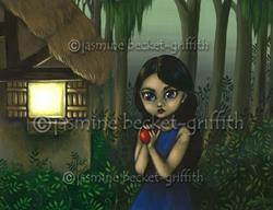 Art: Snow White and the Apple by Artist Jasmine Ann Becket-Griffith