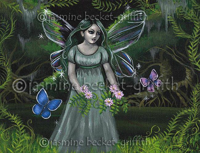 Art: Forest Fairy by Artist Jasmine Ann Becket-Griffith