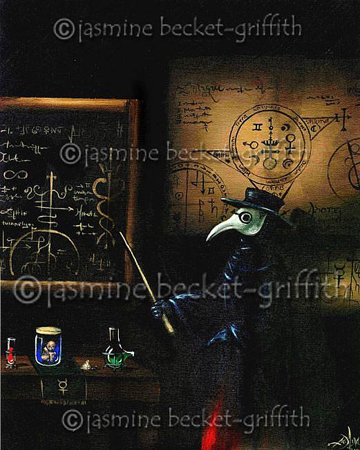 Art: The Alchemist's Plague by Artist Jasmine Ann Becket-Griffith