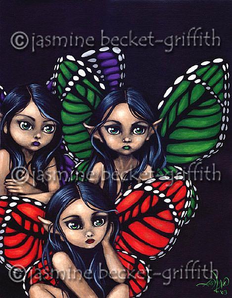 Art: Butterfly Faeries by Artist Jasmine Ann Becket-Griffith