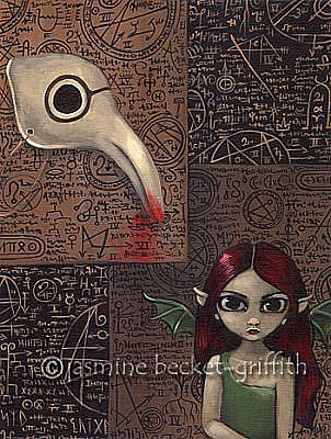 Art: Arcane Ritual Faerie (#5) by Artist Jasmine Ann Becket-Griffith