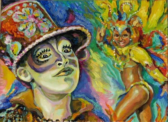 Art: Carnival etude by Artist Luda Angel