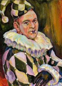 Detail Image for art Actor dressed by Clown