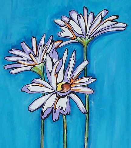 Art: Daisy Joy by Artist Melanie Douthit