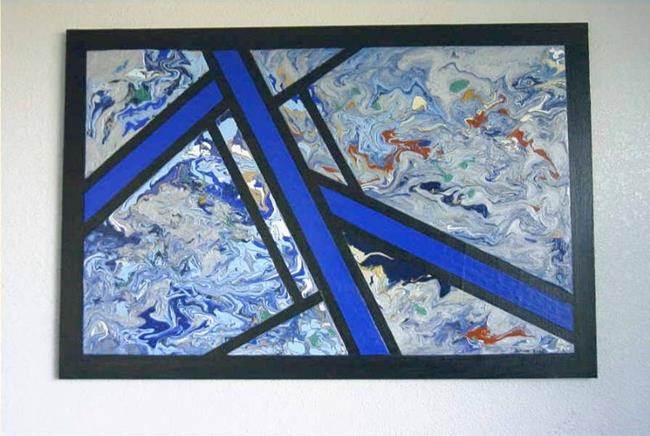 Art: Cool Breeze (SOLD) by Artist Dawn Hough Sebaugh