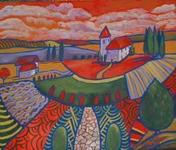 Art: La Chambre De Re'union by Artist Virginia Kilpatrick