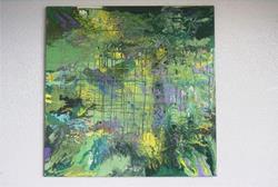 Art: BOONDOCKS (SOLD) by Artist Dawn Hough Sebaugh