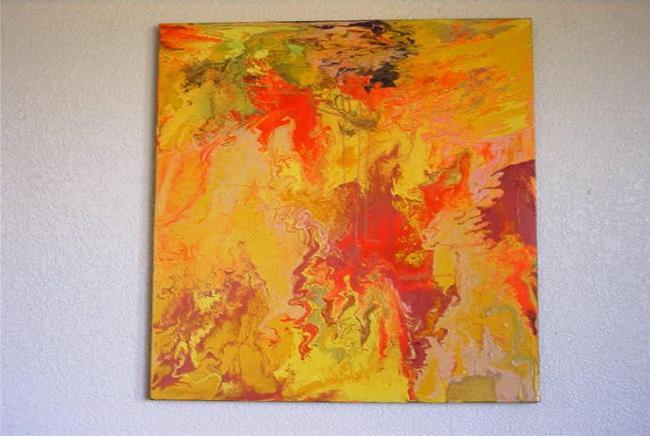 Art: CHINA MY EYES (SOLD) by Artist Dawn Hough Sebaugh