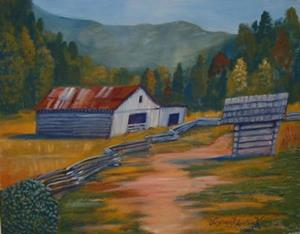 Detail Image for art Cades Cove Barn