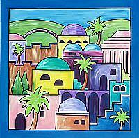 Art: Jerusalem by Artist Melanie Douthit
