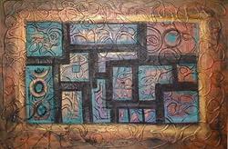 Art: Abstract 11-15-2006 by Artist Virginia Kilpatrick