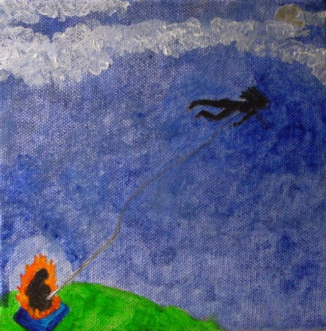 Art: Traveling the Astral Planes by Artist Donna Gill