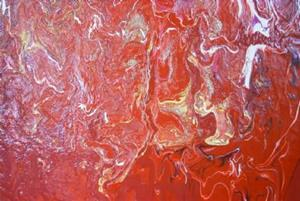 Detail Image for art RED HEAT (sold)