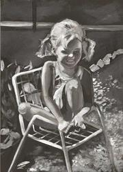 Art: Aimee's Chair by Artist Aimee L. Dingman