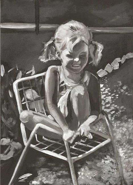 Art: Aimee's Chair by Artist Aimee L. Dingman