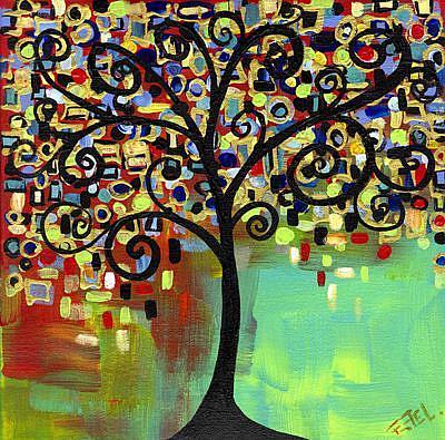 Art: Tree of Life 3 by Artist Elena Feliciano