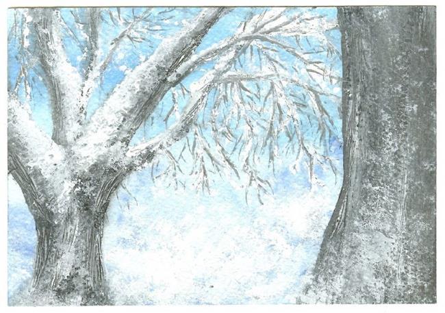 Art: Winter Wonderland by Artist Nata Romeo ArtistaDonna