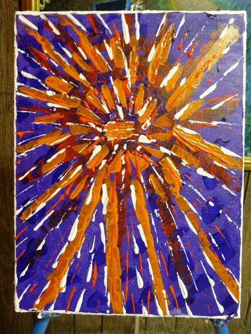 Art: Scintillating Sun Rays by Artist Nata Romeo ArtistaDonna