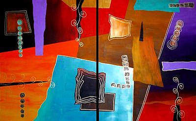 Art: Untitled #67 by Artist Elena Feliciano