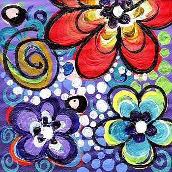 Art: Flower Power #3 by Artist Elena Feliciano
