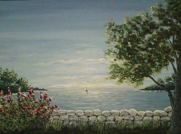 Art: Evening Breeze by Artist Leea Baltes