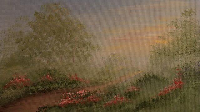 Art: Morning Mist by Artist Leea Baltes