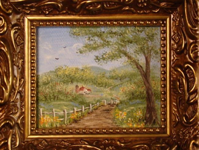 Art: Old Country Road by Artist Leea Baltes