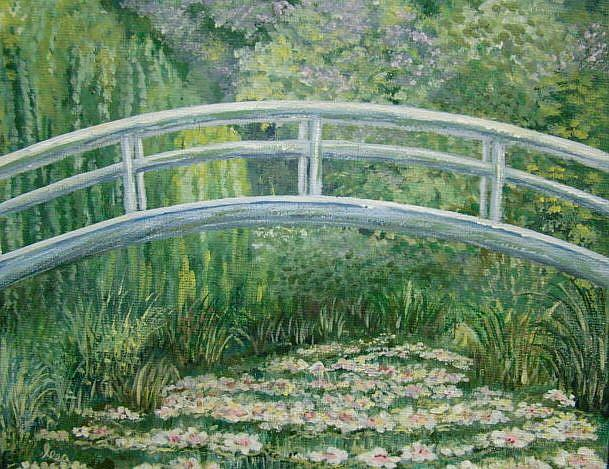 Art: Lily Pond by Artist Leea Baltes