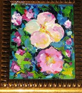 Detail Image for art ABSTRACT flowers BLOSSOM