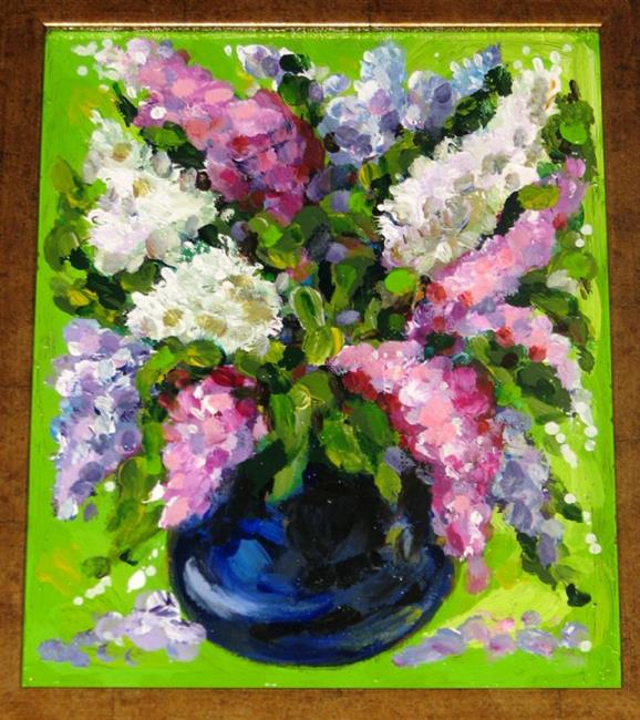 Art: Flowers BOUQUET  by Artist Luda Angel