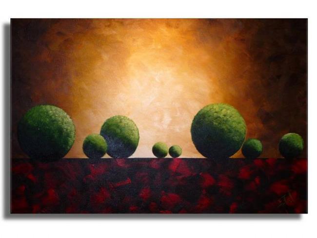 Art: Runwood Field #2 by Artist Elena Feliciano