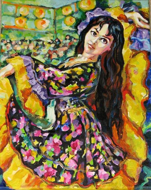 Art: The Gipsy by Artist Luda Angel