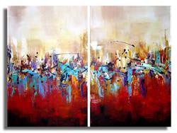 Art: Abstract #91 by Artist Elena Feliciano