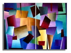 Art: Abstract #92 by Artist Elena Feliciano