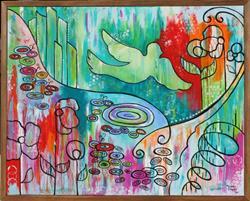 Art: Oz by Artist Melanie Douthit