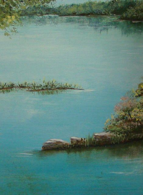 Art: Serenity Along the Potomac by Artist Leea Baltes