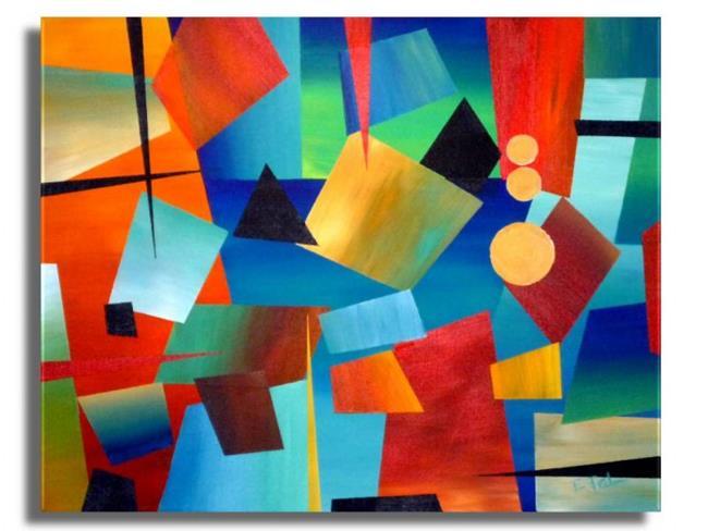 Art: Abstract #99 by Artist Elena Feliciano