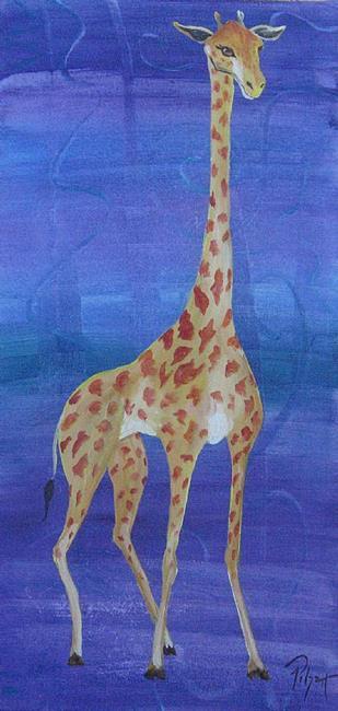 Art: Long Neck by Artist Padgett Mason