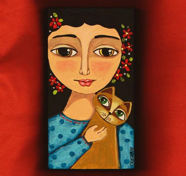 Art: My Friend by Artist Cindy Bontempo (GOSHRIN)