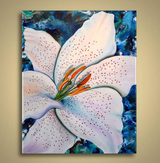 Art: Tiger Lily by Artist Elena Feliciano