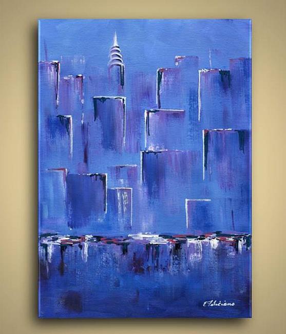 Art: New York City by Artist Elena Feliciano