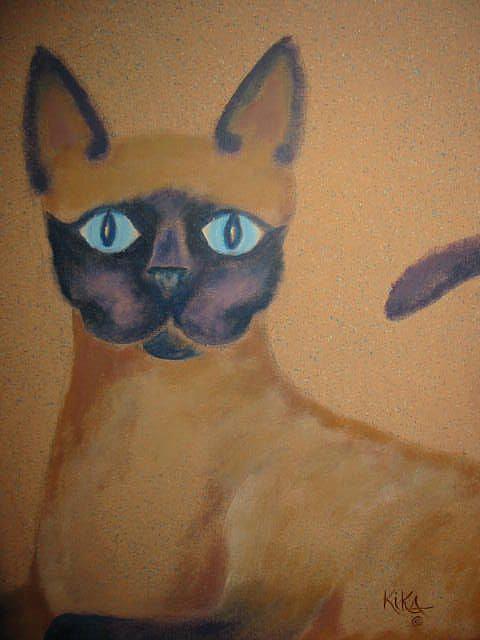 Art: Mean Cat by Artist KikaD