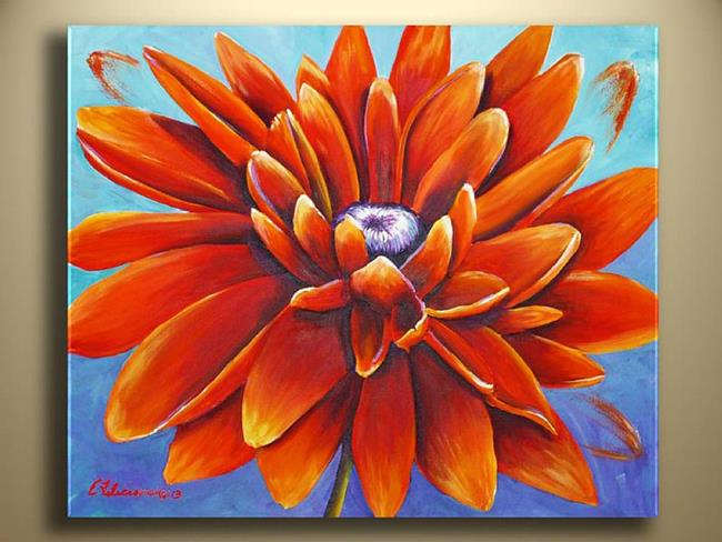 Art: Sunflower by Artist Elena Feliciano