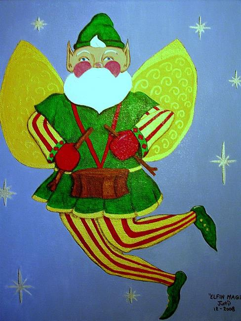 Art: Elfin Magic by Artist Dee Turner