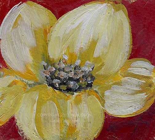 Art: Pretty Petals by Artist Windi Rosson