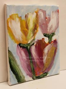 Detail Image for art Moms Tulips