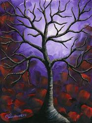Art: Enchanted Evening by Artist Elena Feliciano